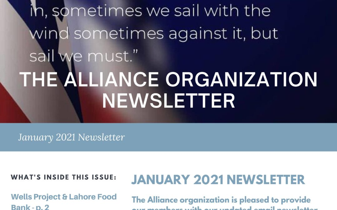 Alliance Official – January 2021